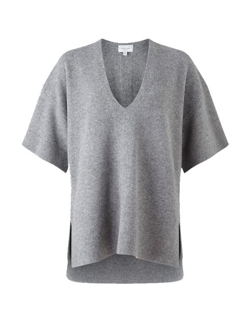 """<p>Market and Retail Editor Harriet Stewart will be pairing this oversized knit with a white flippy skirt for those cool summer evenings.</p>  <p></p>  <p><a href=""""http://www.jigsaw-online.com/products/fleece-wool-kimono-tunic-sweater-11578"""" target=""""_bl"""
