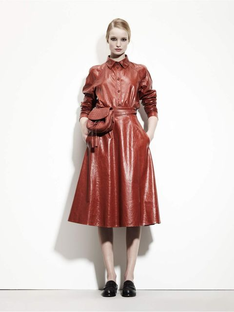 <p>Bottega Veneta pre-fall 2012, Look 7</p>