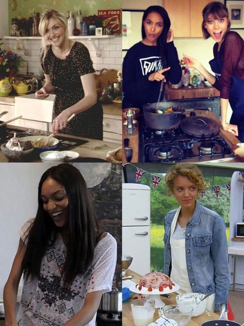 """<p>Think <a href=""""http://www.elleuk.com/catwalk/models"""">being a model</a> and being a baker are pretty much the two most disparate professions on the planet? Think again.</p><p><a href=""""http://www.elleuk.com/star-style/news/great-british-bake-off-ruby-tan"""