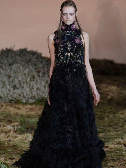 """<p><a href=""""http://www.elleuk.com/catwalk/designer-a-z/alexander-mcqueen/autumn-winter-2014"""">Alexander McQueen, A/W 14.</a></p>"""