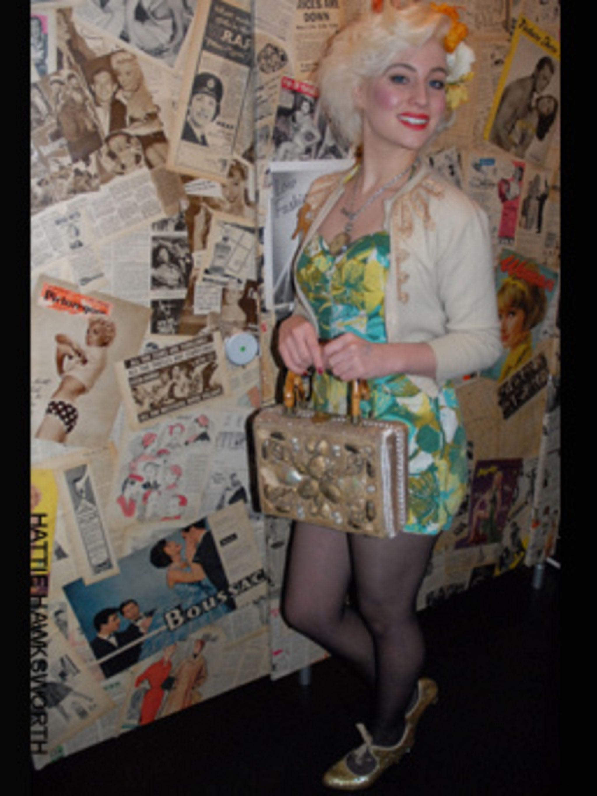 <p>Hannah, 23, from London- <strong>Update any dress</strong> with a 50's silhouette. I have the perfect waist clincher belt and 'bullet' bra inserts from What Katie Did in Portobello Road.- <strong>Do your homework</strong>. Look in old design books, thi