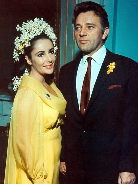 "<p><a href=""http://www.elleuk.com/starstyle/special-features/%28section%29/elizabeth-taylor-a-retrospective"">Elizabeth Taylor</a> marrying her fifth husband Richard Burton in Montreal in 1964</p>"