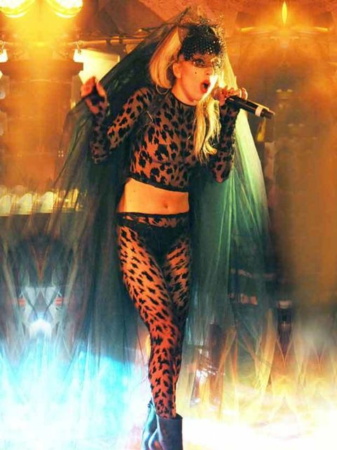 "<p><a href=""http://www.elleuk.com/starstyle/style-files/(section)/lady-gaga"">Lady Gaga</a> took to the stage with tracks from her new album for a special performance at Annabel's in London, May 2011.</p>"