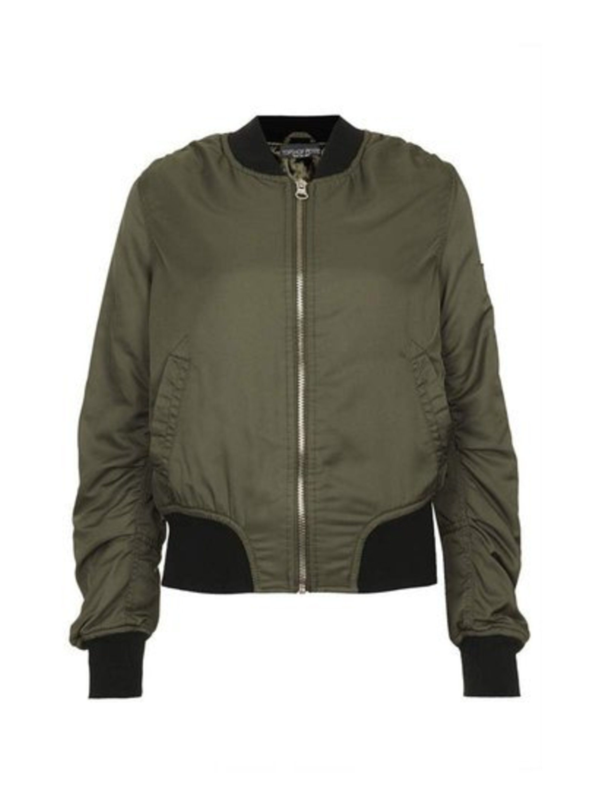 The MA1 flight jacket was spotted on more a/w 2014 catwalks than we could count.Topshop jacket, £55