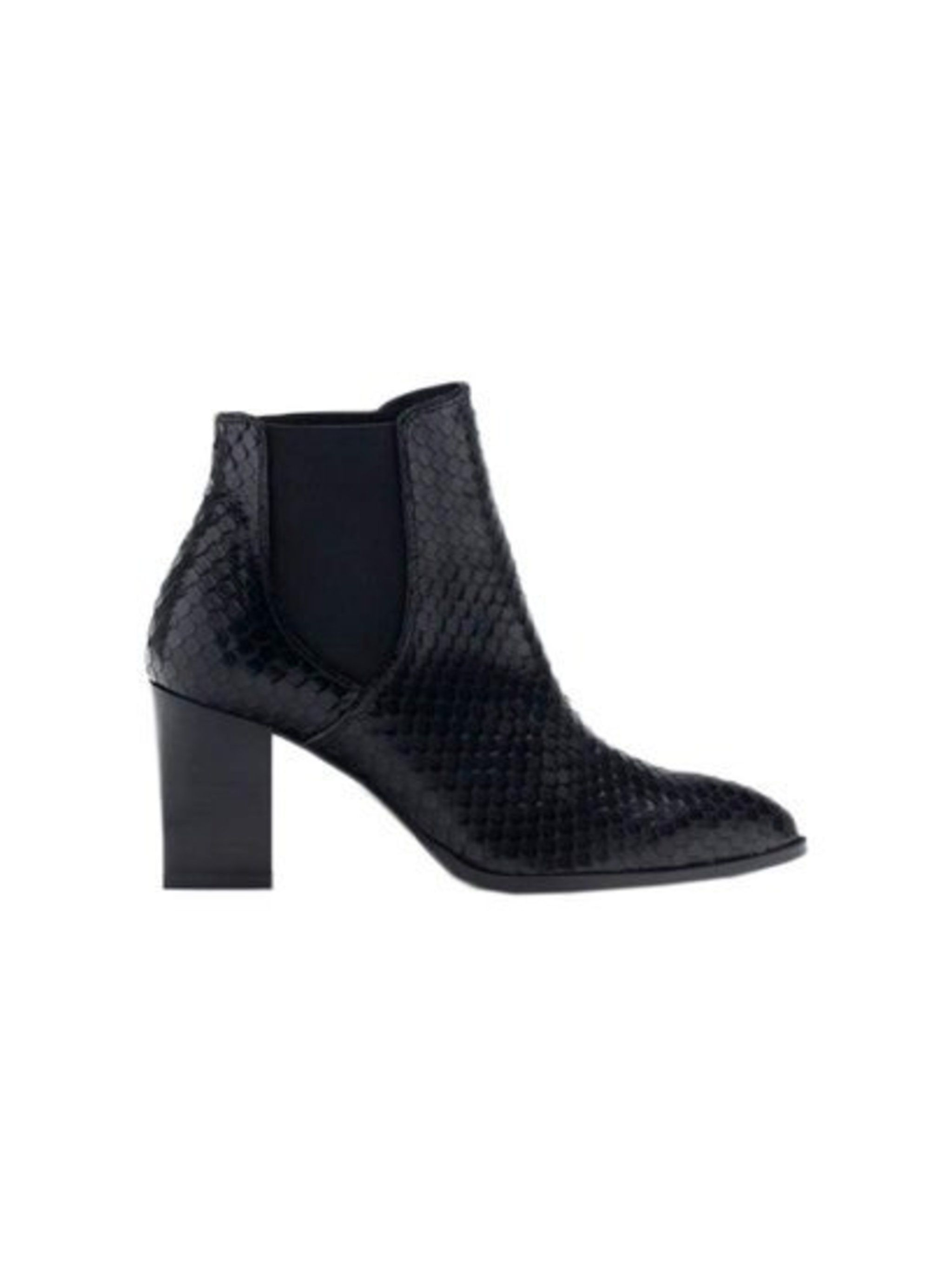 Great with next season's mid length skirt and bare legs come autumn.  Uterqüe boots, £125
