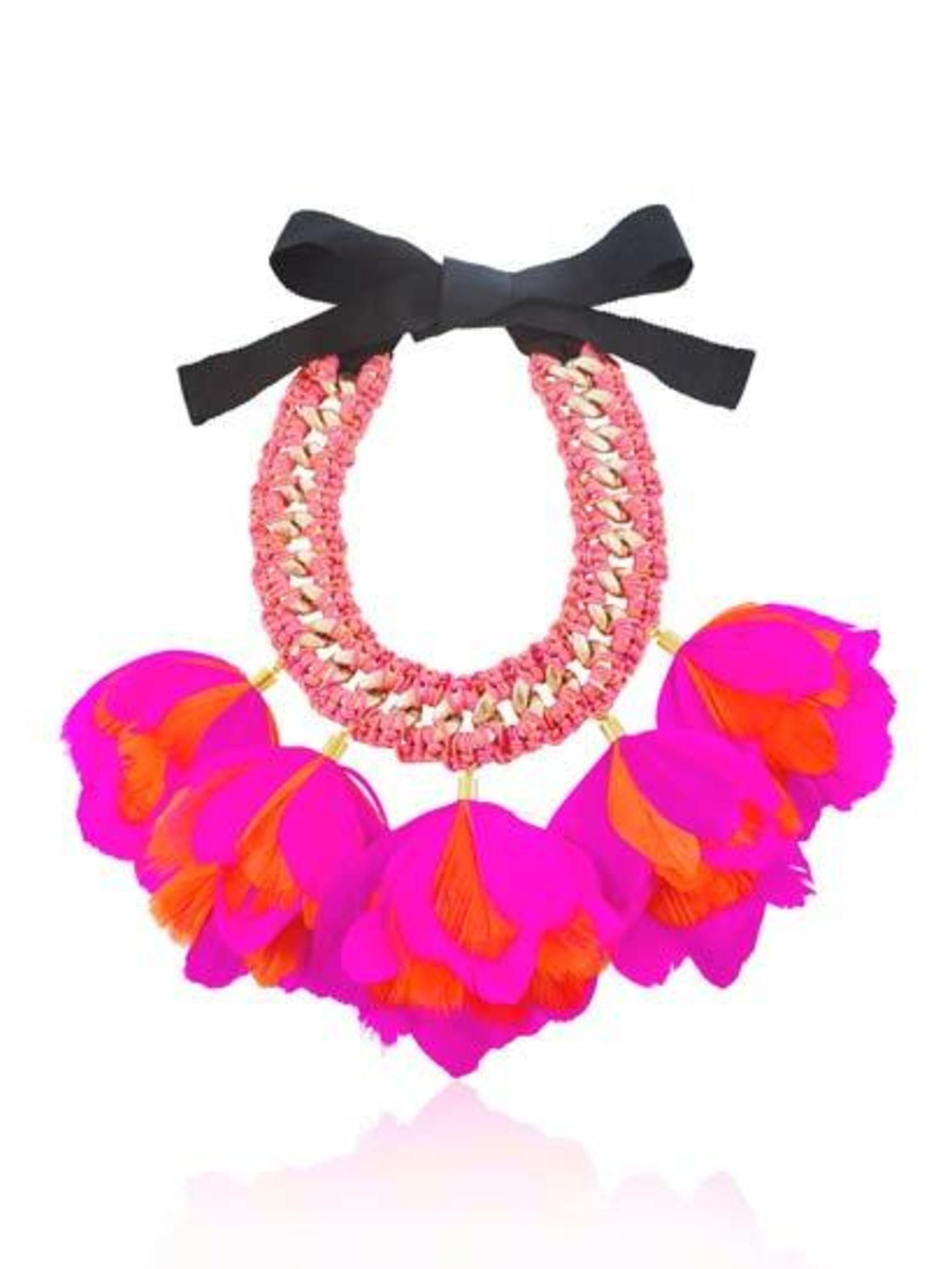 <p>Say it loud with this ilovedesigner.com necklace, £150.</p>