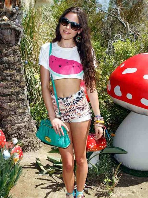 """<p><a href=""""http://www.elleuk.com/content/search?SearchText=eliza+doolittle&amp;SearchButton=Search"""">Eliza Doolittle</a> looked her usual quirky self in a cropped t-shirt and hotpants with a <a href=""""http://www.elleuk.com/catwalk/collections/mulberry/autu"""