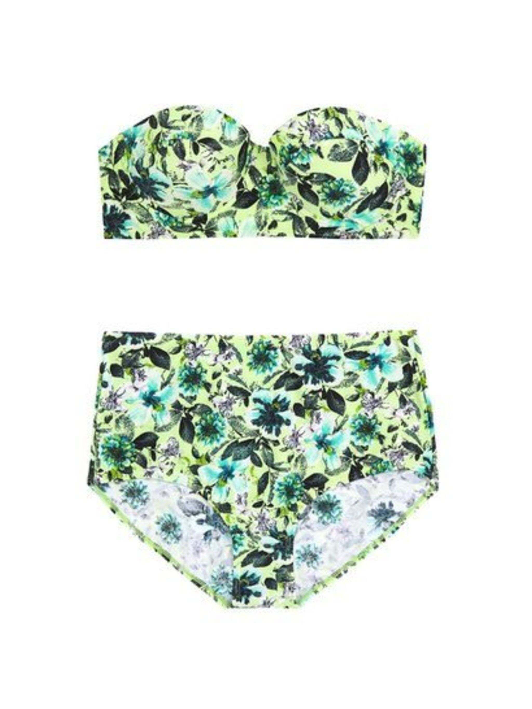 What Associate Health & Beauty Editor Amy Lawrenson doesn't know about high street shopping isn't worth knowing - and Warehouse is her go-to for the best bikinis.  Warehouse bikini top, £18, and matching bottoms, £16