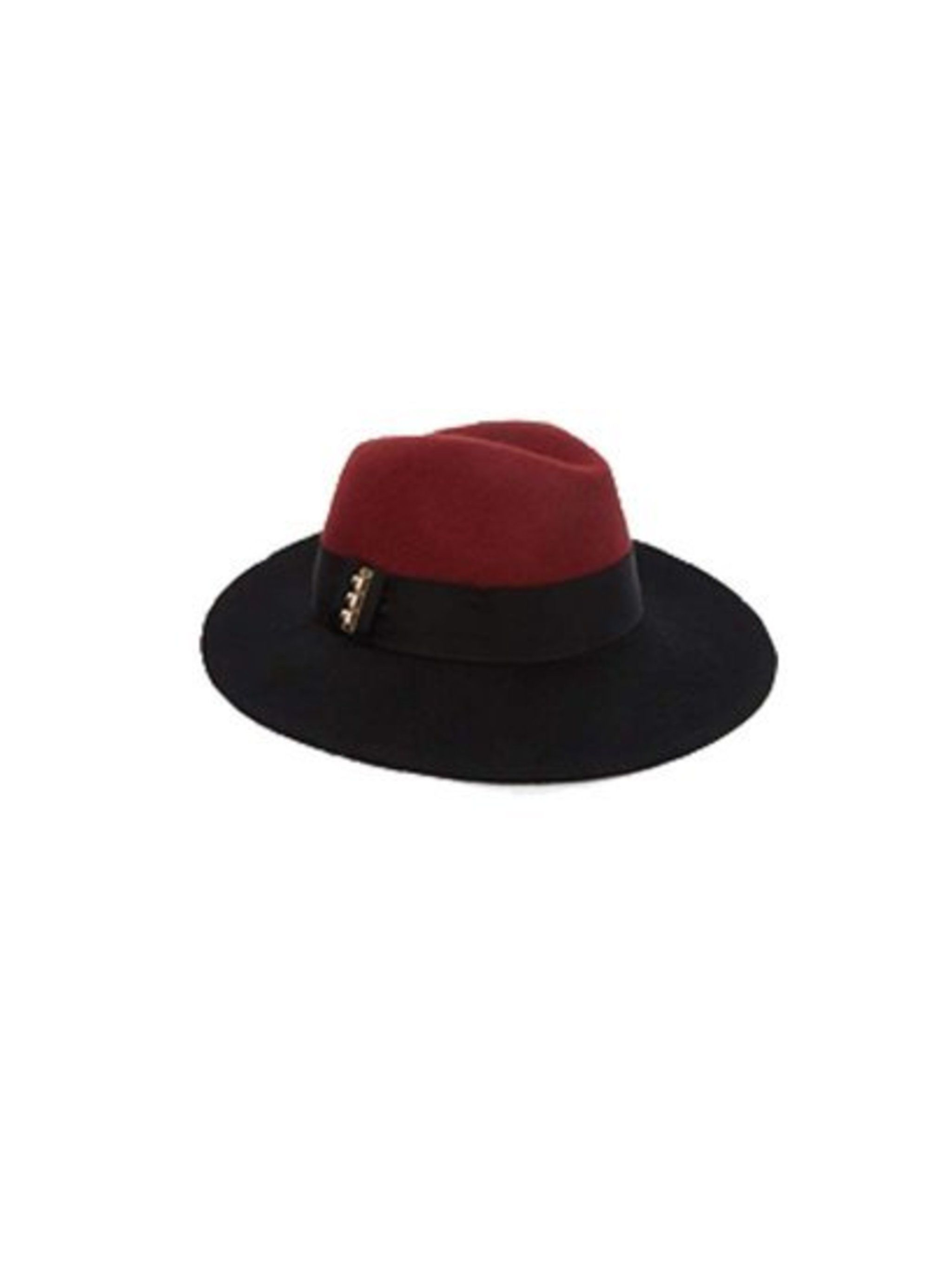 Top it off with a double tone hat like this from River Island, £25 available at Asos