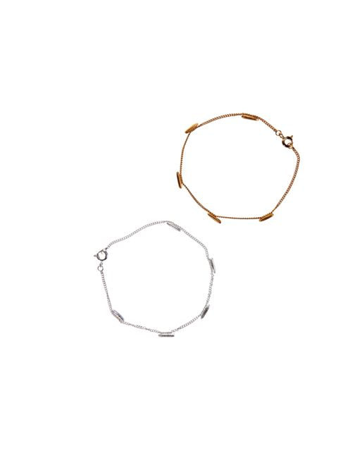 "<p>Can you tell what it is yet? Our latest jewellery crush Lucy Folk has once again shown how food and fashion combine with these rice-inspired bracelets… <a href=""http://lucyfolk.com/lucy-folk/online-store/"">Lucy Folk</a> sterling silver bracelet, £122,"
