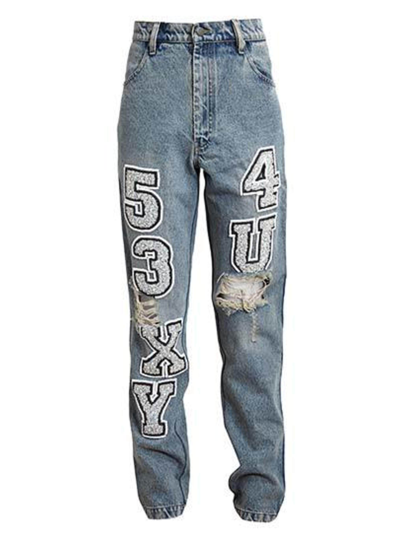 Ashish jeans, £760 at Browns.