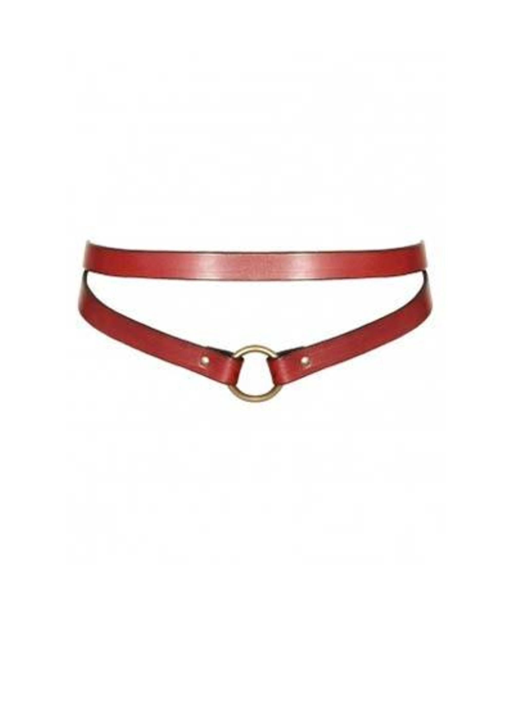 <p>Harness belt £80 by Louise Mckay at the Secret Emporium.</p>