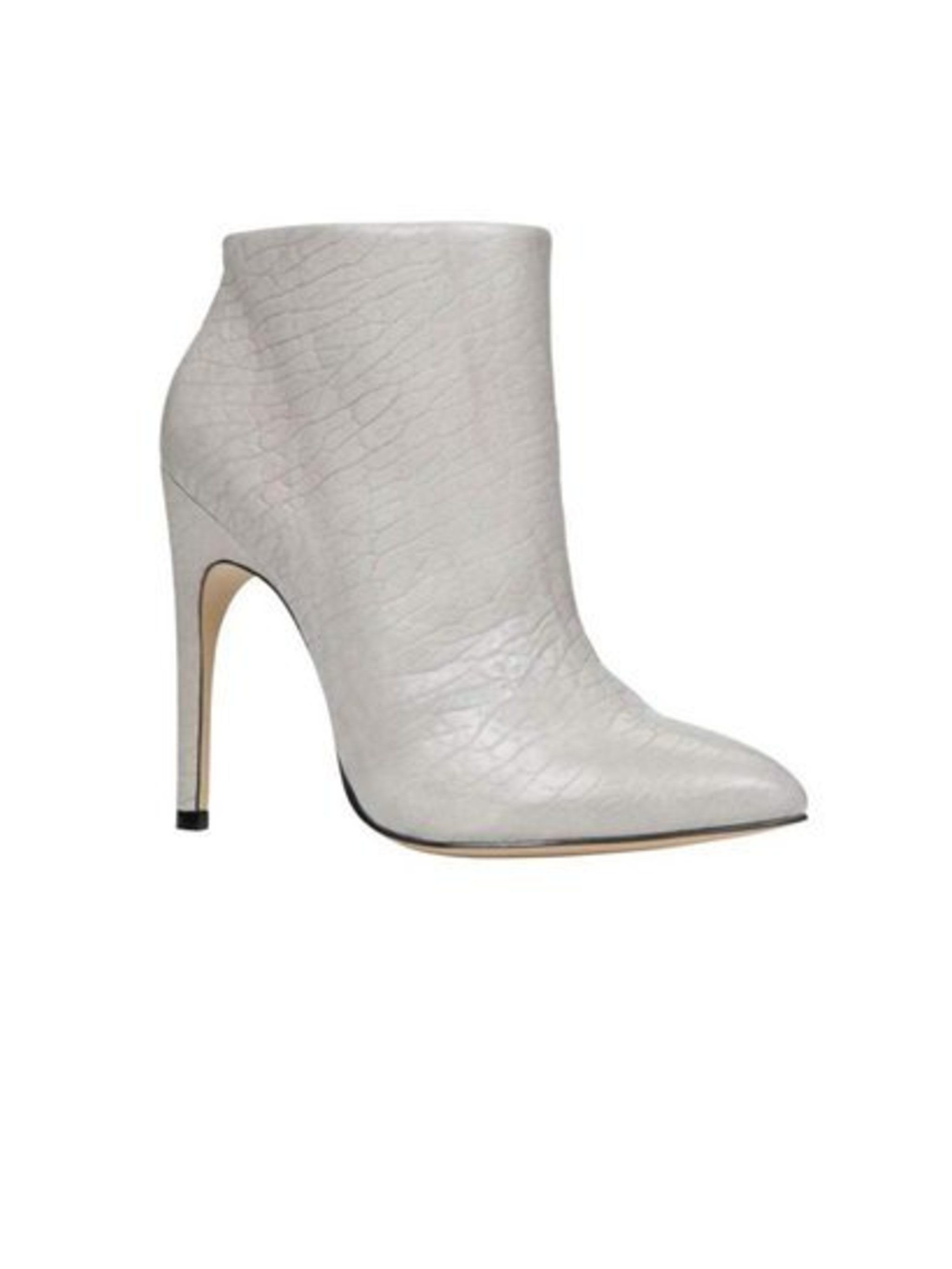 New neutral. Ankle boot, £110 from Aldo