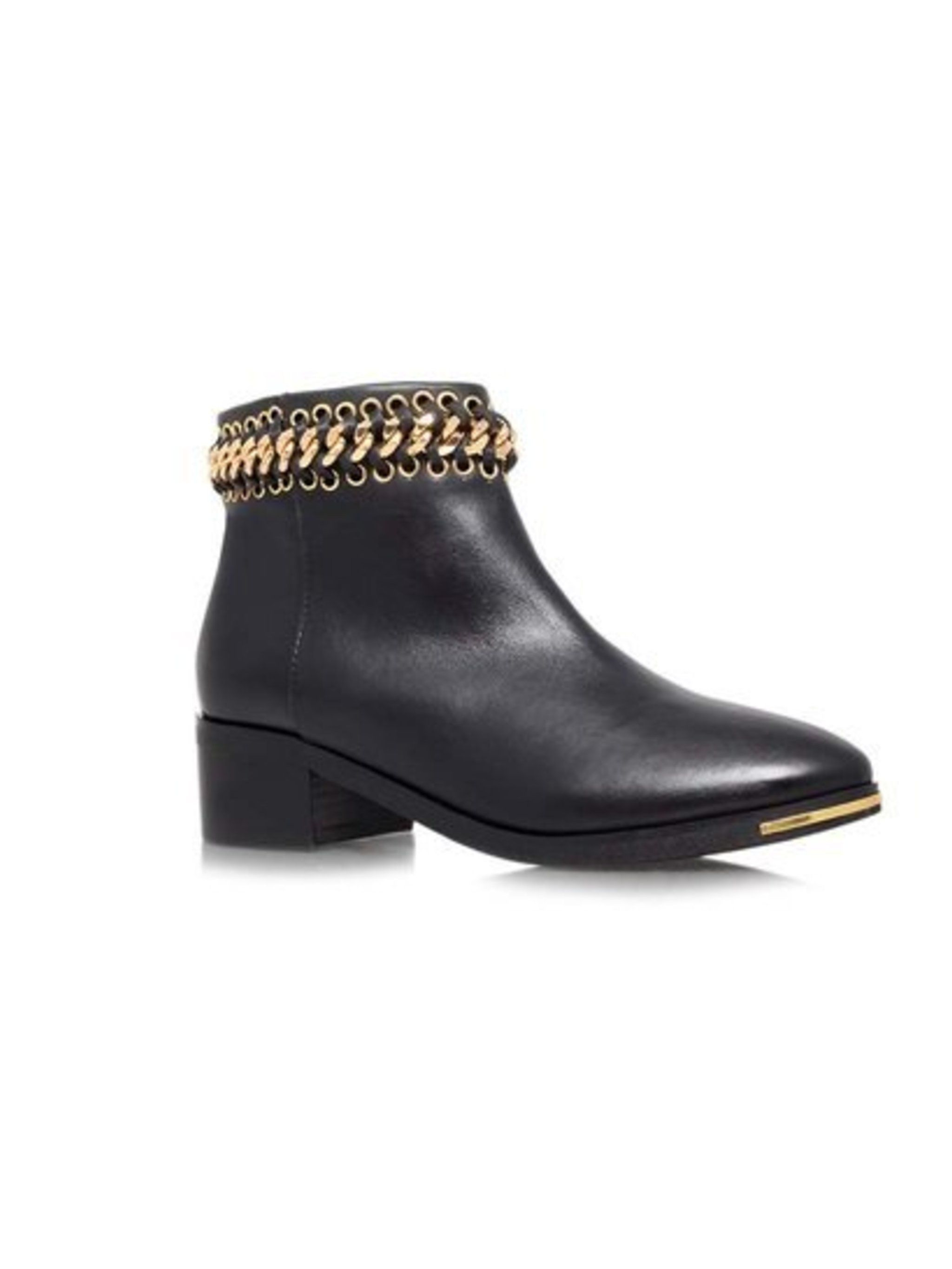 Chain Gang. Leather boots, £160 from Kurt Geiger