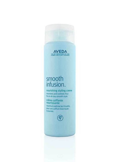 "<p><a href=""http://www.aveda.co.uk/product/5250/36581/Collections/Smooth-InfusionTM/smooth-infusion-nourishing-styling-creme/index.tmpl"" target=""_blank"">Aveda Smooth Infusion Nourishing Styling Creme, £22.50</a></p>