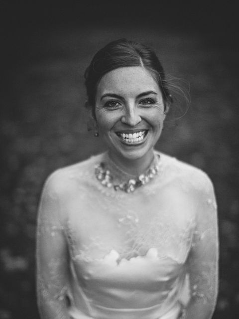 <p><strong>Bride</strong></p>  <p><strong>Gemma Garnham</strong></p>  <p><strong>Studio manager at Marios Schwab.Married Kevin Cooper in Oakwell Hall, Birstall</strong></p>  <p>'I couldn't imagine wearing anyone else's design on my wedding day. I knew it