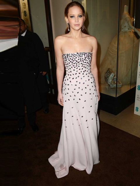 "<p><a href=""http://www.elleuk.com/star-style/celebrity-style-files/jennifer-lawrence"">Jennifer Lawrence</a> wowing in a <a href=""http://www.elleuk.com/catwalk/designer-a-z/christian-dior/spring-summer-2013"">Christian Dior</a> dress and Chopard jewellery</"