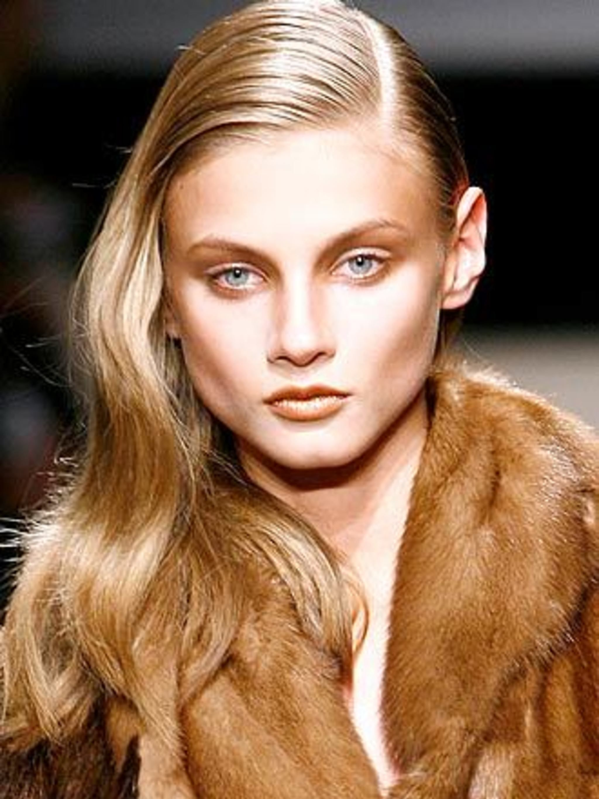 <p>Jewel eyes Gemstones and precious metals inspired a host of different looks backstage this season. At Costume National CNC make-up artist Sally Branka injected elegance into a punky 'club kid' look with wet-look sapphire eyes, while at Prada an austere