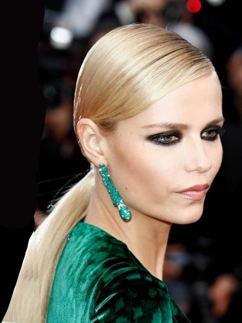 <p>Natasha Poly at the Cannes Film Festival 2012</p>