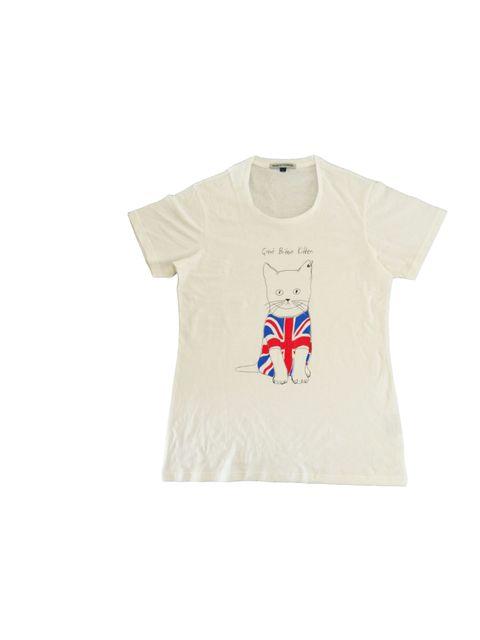 "<p><a href=""http://simeonfarrar.com/"">Simeon Farrar</a> kitten T-shirt, £45</p>"