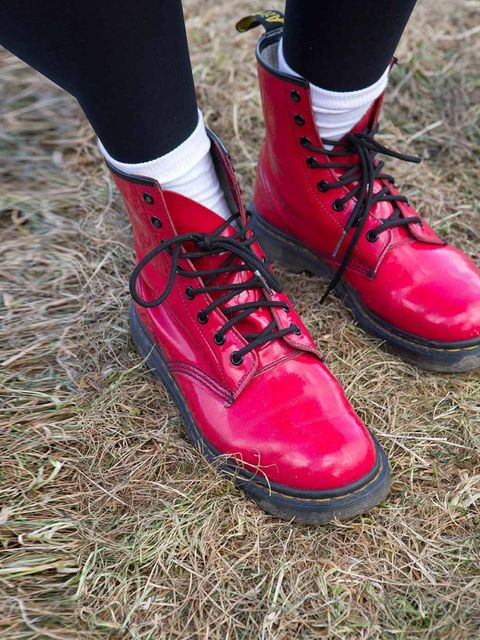 "<p>Lacy Safo wears Doctor Martin boots.</p><p><a href=""http://www.elleuk.com/style/street-style/secret-garden-party-street-style-2013"">Secret Garden Party Street Style</a></p><p><a href=""http://www.elleuk.com/style/street-style/wilderness-festival-street-"