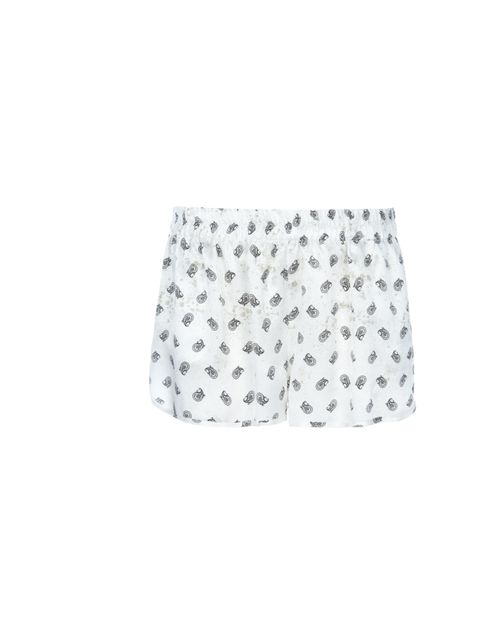 "<p>Pierre Balmain paisley print shorts, £132, at <a href=""http://www.farfetch.com/shopping/women/search/schid-62616c6d61696e/items.aspx?q=balmain"">Farfetch</a></p>"