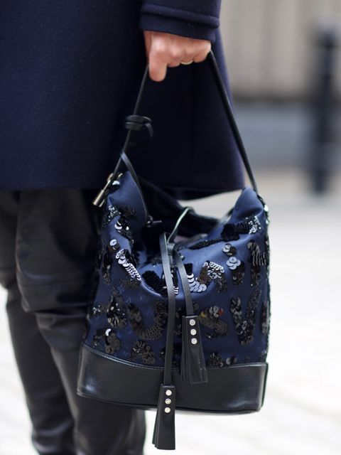 <p>Kirsty Dale - Executive Fashion & Beauty Director</p><p>M&S Coat, Selected Femme leather trousers and Louis Vuitton bag.</p>