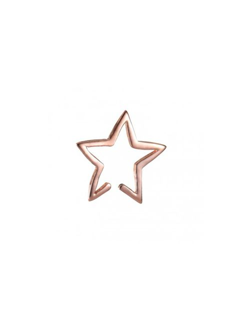 """<p><a href=""""http://www.layanalondon.com/star-cuff-rose-gold"""" target=""""_blank"""">Layana</a> earrings, £39</p>"""