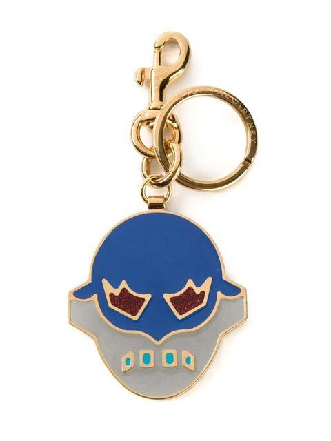 """<p>A very fashionable superhero.</p><p>Stella McCartney keyring, £95 at <a href=""""http://www.farfetch.com/uk/shopping/women/stella-mccartney-enamelled-mask-keyring-item-10854316.aspx?storeid=9336&ffref=lp_2_"""" target=""""_blank"""">Farfetch</a></p>"""