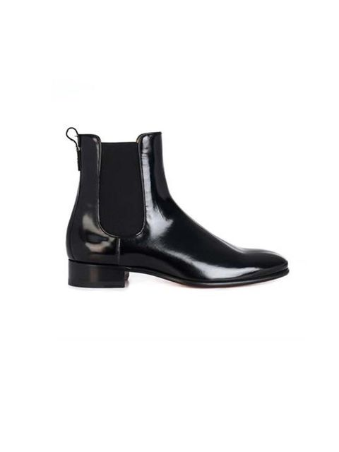 "<p>Black ankle boots, <a href=""http://www.matchesfashion.com/product/202507"" target=""_blank"">Salvatore Ferragamo</a> £499</p>"