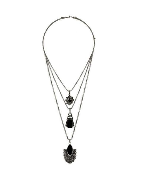 "<p>Stone triple pendant, <a href=""http://www.topshop.com/en/tsuk/product/bags-accessories-1702216/jewellery-469/necklaces-672/stone-layer-necklace-3547734?refinements=category~[210007