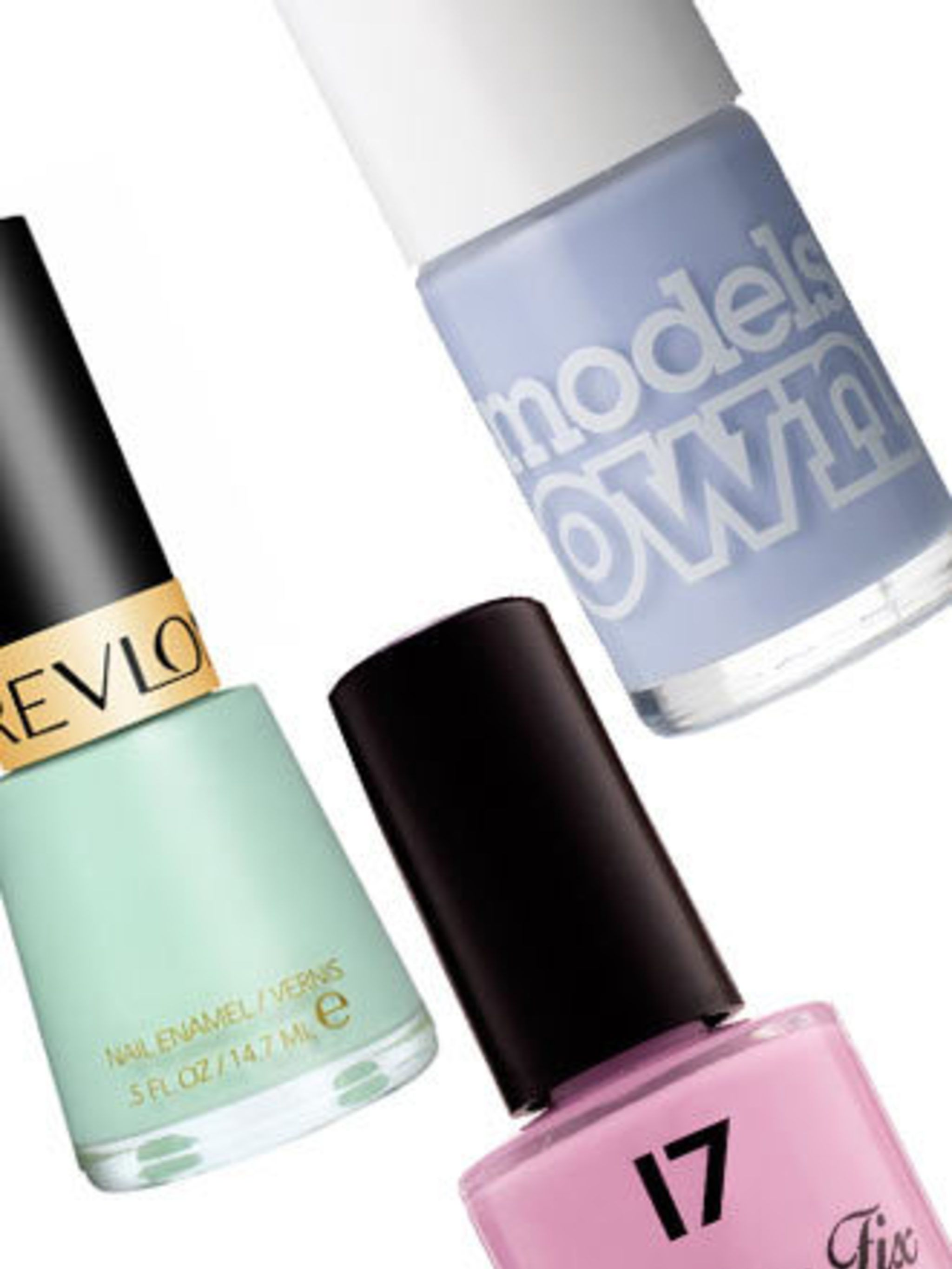 <p>Thanks to the mania caused by Chanel's Jade Vernis last summer paired with the pretty florals and pastel hues set to be big in the fashion world this summer, pastel nails were destined to go stellar. This season green isn't the only hue though, powder