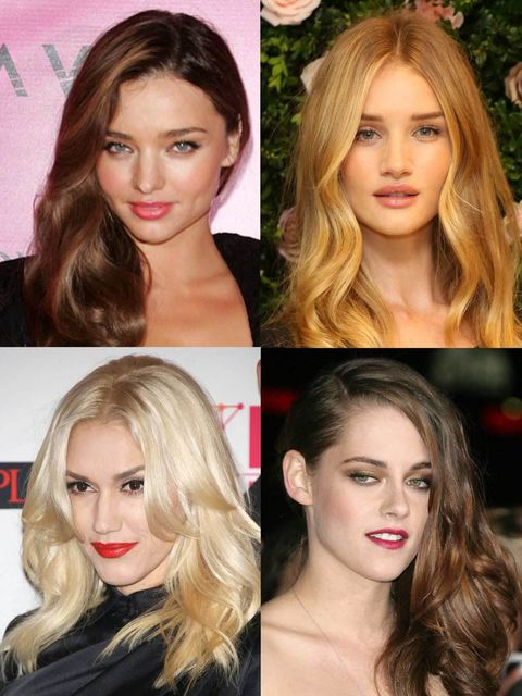 <p>The beautiful blow dry is one hairstyle that fits almost every occasion. While it's not a new trend, it's a look that takes on many guises from Kate Middleton's glossy curls to Kristen Stewart's side-swept waves.</p><p>Take a look at ELLE's top ten cel