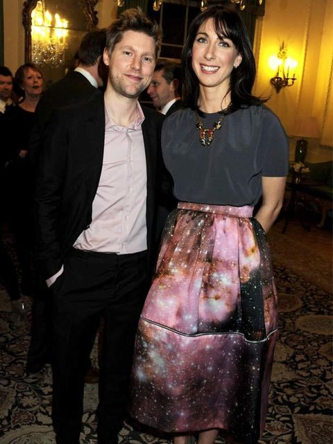 <p>Christopher Kane and Samantha Cameron</p>