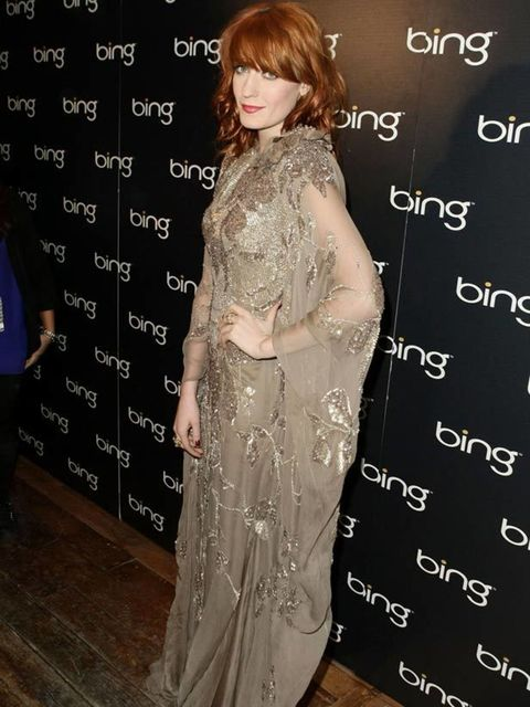 "<p><a href=""http://www.elleuk.com/starstyle/style-files/%28section%29/florence-welch"">Florence Welch</a> in <a href=""http://www.elleuk.com/catwalk/collections/elie-saab/spring-summer-2011/collection"">Elie Saab</a> at the Bing Bar after-party at the Sundan"