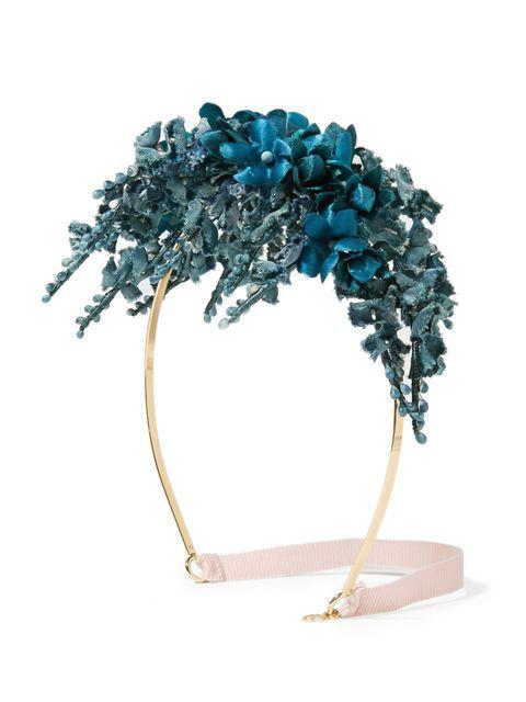 "<p>Floral satin headband, £645, <a href=""https://www.net-a-porter.com/gb/en/product/646188?cm_mmc=ProductSearchGB_PLA_c-_-Gucci-_-Accessories-Hair%20Accessories-Headbands-_-91742173697_646188-005&gclid=CjwKEAjw6sC5BRCogcaY_dKZ2nESJABsZihxZB1ONvN-f3YAk3cY_"