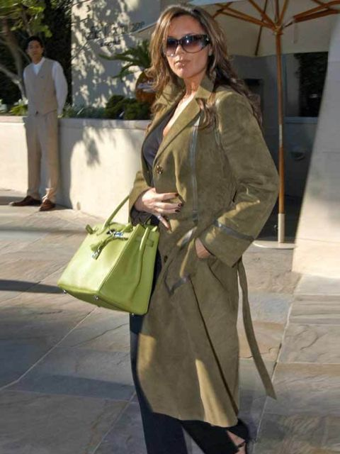 "<p><a href=""http://www.elleuk.com/catwalk/collections/victoria-beckham/spring-summer-2011/review"">Victoria Beckham</a> shopping in Los Angeles while pregnant with Cruz, October 2004</p>"