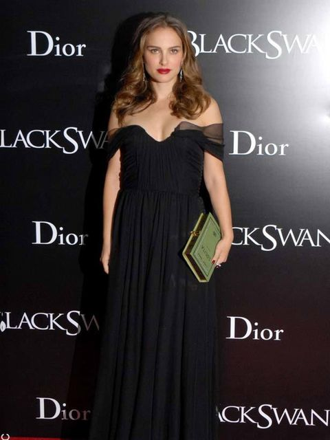 """<p><a href=""""http://www.elleuk.com/starstyle/style-files/%28section%29/Natalie-Portman/%28offset%29/0/%28img%29/156345"""">Natalie Portman</a> wears <a href=""""http://www.elleuk.com/catwalk/collections/christian-dior/spring-summer-2011/collection"""">Christian Dio"""