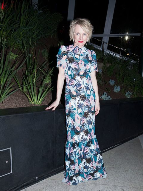 <p>Lorraine Candy – Editor-In-Chief</p>  <p>Erdem dress, Rupert Sanderson shoes, Shaun Leane earrings</p>