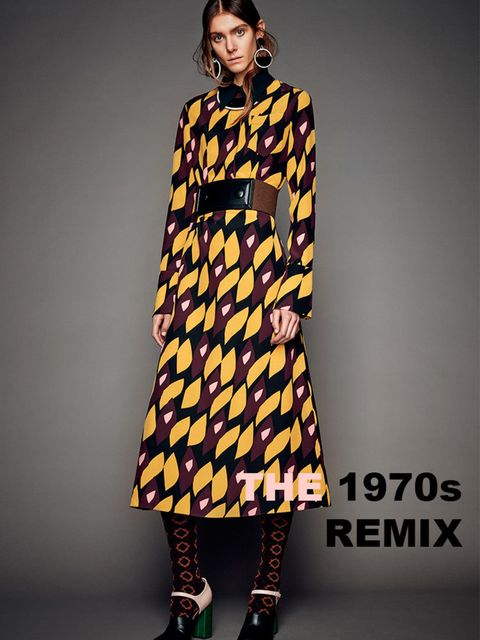 <p>The 1970's Remix</p>  <p>Marni Pre-Fall 2015</p>