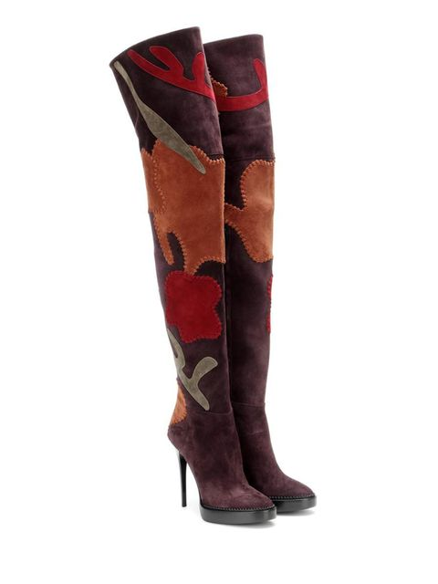 "<p><a href=""http://www.mytheresa.com/en-gb/suede-over-the-knee-boots-474278.html?catref=category"" target=""_blank"">£1,450, Burberry Prorsum</a></p>"