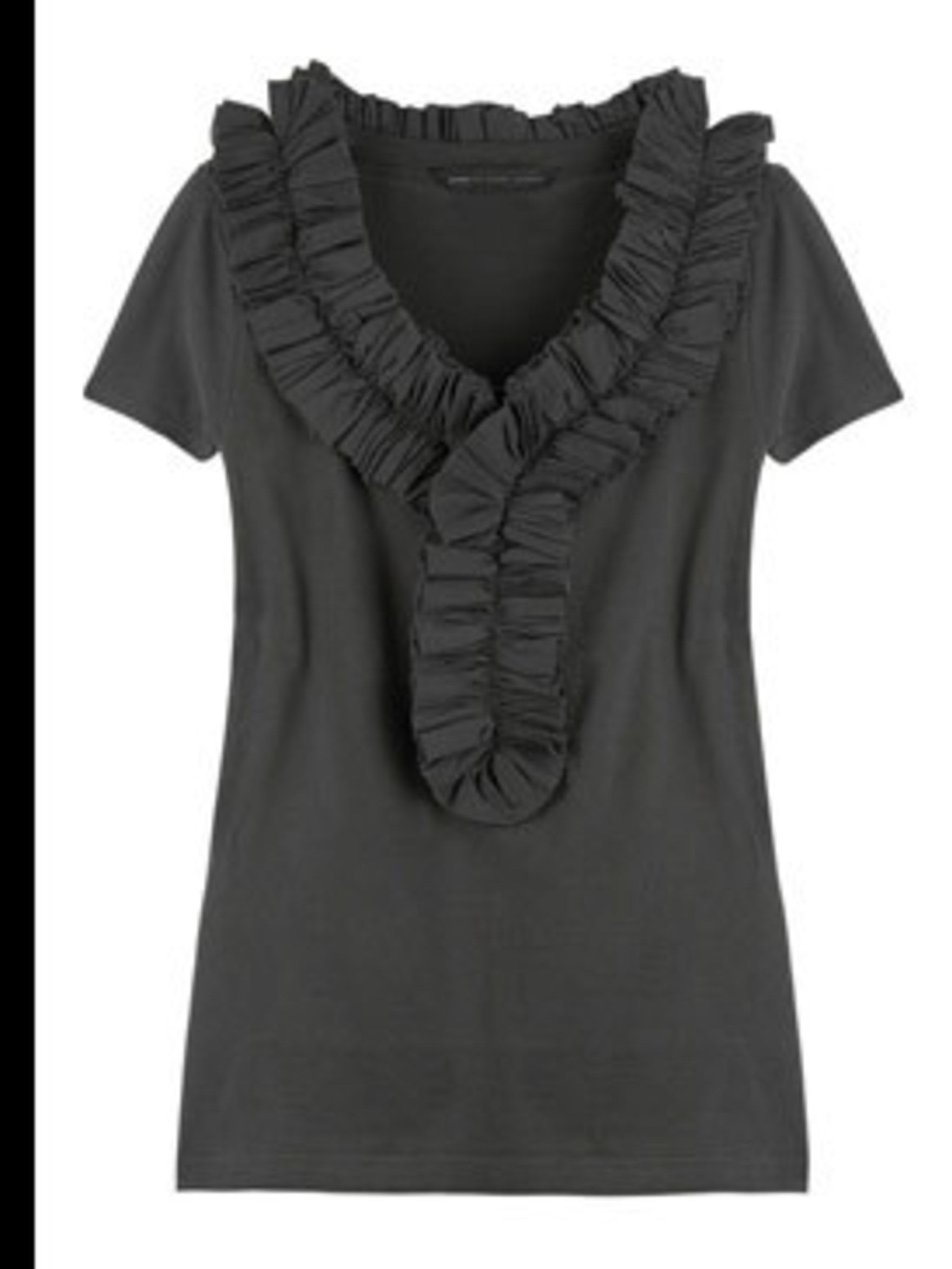 """<p>T-Shirt, £145 by Marc by Marc Jacobs at <a href=""""http://www.net-a-porter.com/product/41287"""">Net-A-Porter</a></p>"""