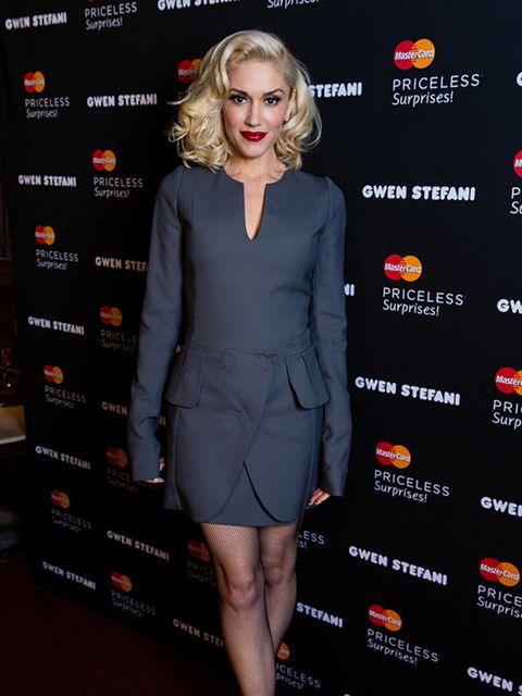 <p>Gwen Stefani at the Orpheum in Los Angeles, February, 2015. </p>
