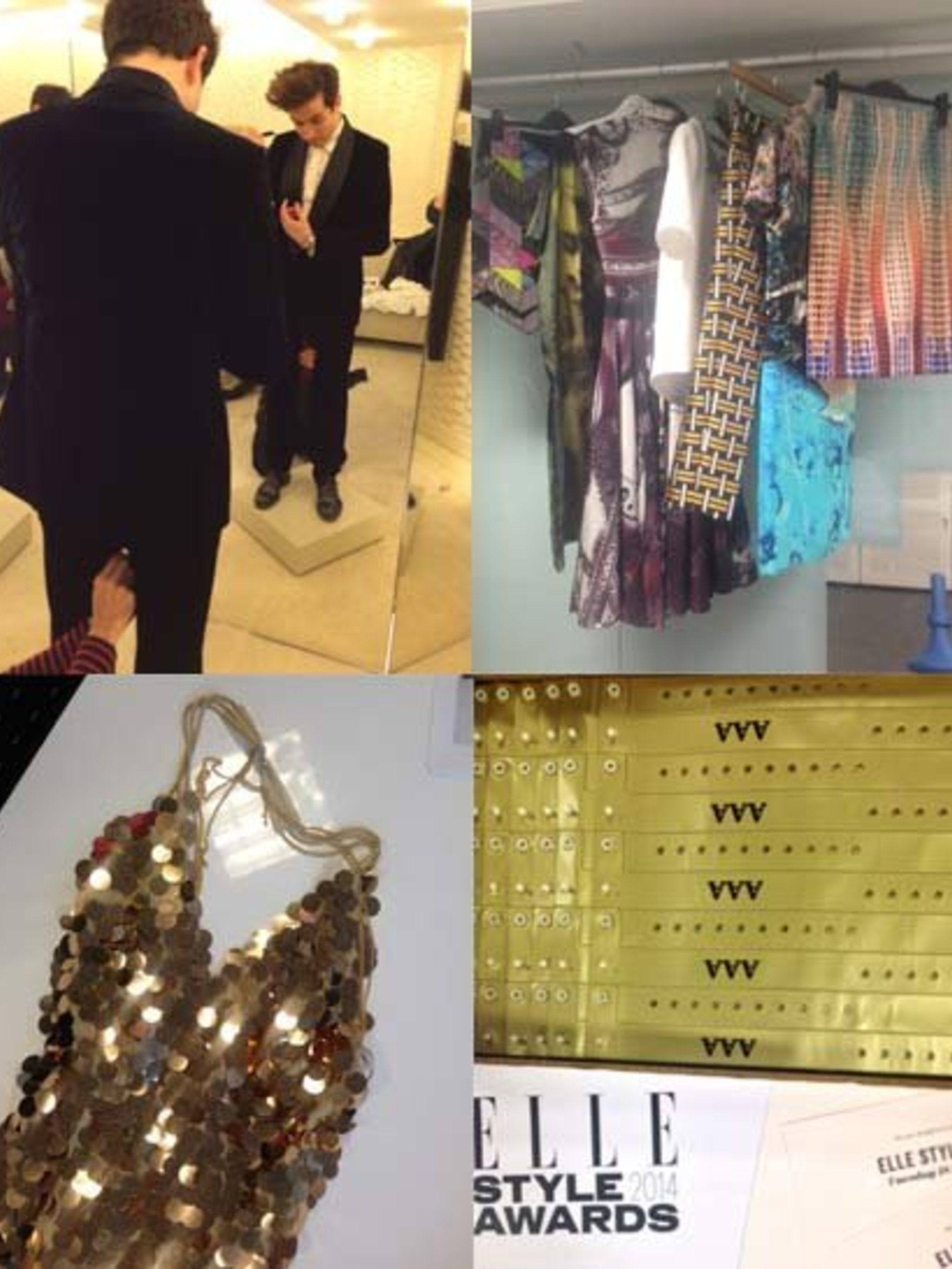 <p>As the week before the ELLE Style Awards draws to a close we put the finishing touches to all the crucial parts: the food, the celebrity dressing, the VIP access and most importantly the DRESSES.</p><p>Here's a sneak-peek at what we've been up to.</p><