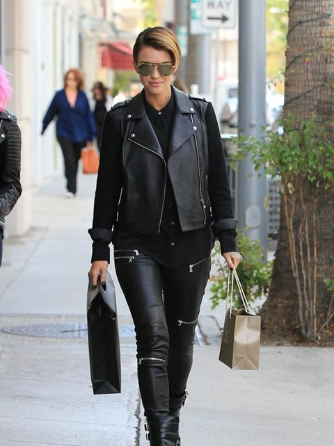 Ruby Rose out and about in LA, November 2015.
