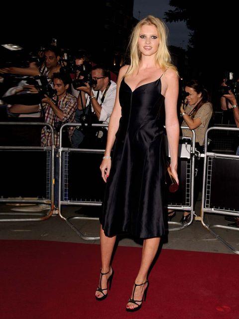 <p>Lara Stone wearing Calvin Klein at GQ Men of the Year Awards.</p>