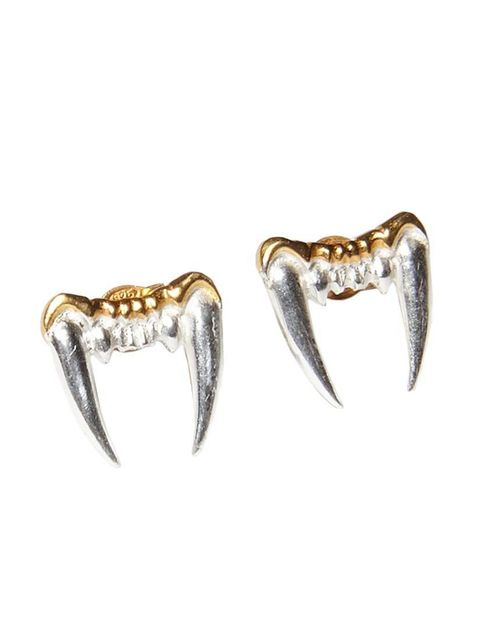 <p>Content Editor Leisa Barnett couldn't resist these polished fangs.</p>