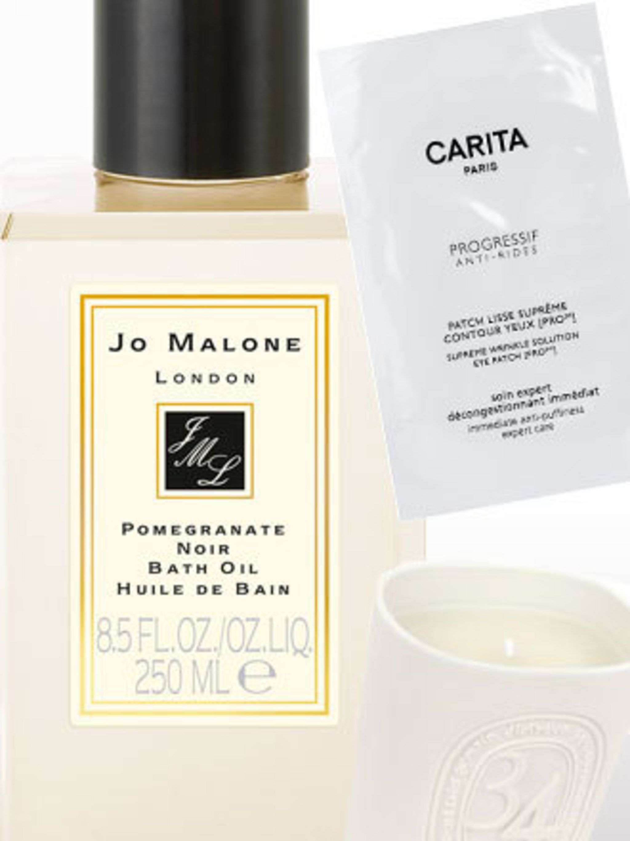 <p>If it's the thought of some downtime at home which excites you the most about this coming weekend then how about recreating your very own spa at home? Create the right atmosphere with Diptyque 34 Boulevard Saint Germain Candle [£50] which smells of mos