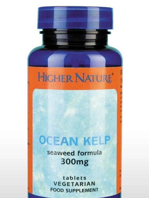 <p>Sea Kelp is a naturally growing cold water plant that contains over sixty vitamins and minerals. Iodine is one of them; which has been shown to be important in the function of the thyroid gland which controls the metabolism. Because of its ability to r