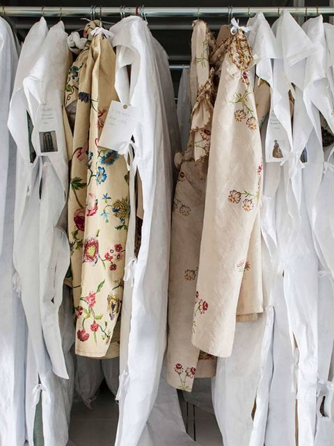 <p>Storage in the Clothworkers' Centre for the Study and Conservation of Textiles and Fashion</p>